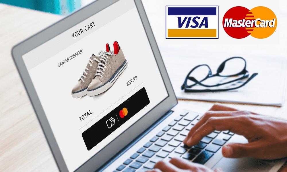 راهنمای خرید با ویزا کارت و مستر کارت