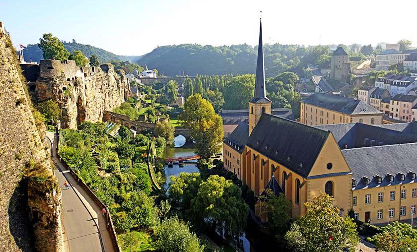 بهترین کشور ها برای کار در خارج لوکزانبورگ