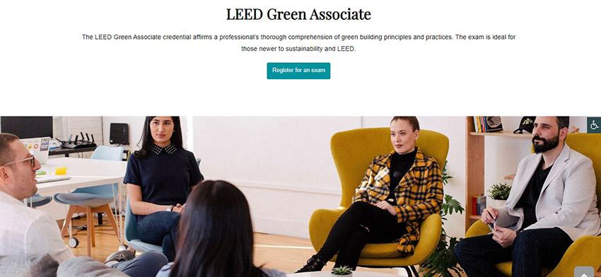 آزمون LEED Green Associate چیست دریافت گواهینامه LEED