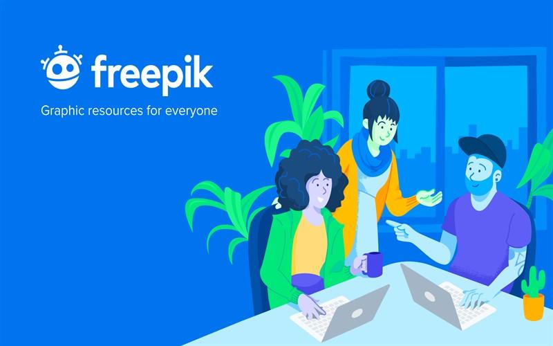 سایت freepik