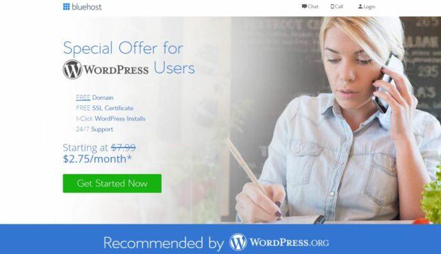 Bluehost-بهترین هاست وردپرس