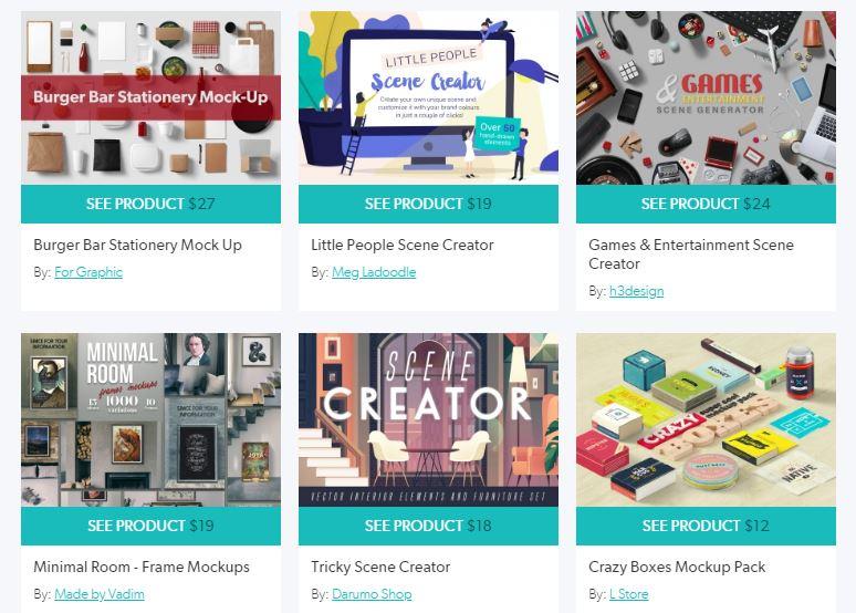 سایت DesignCuts فروشگاه