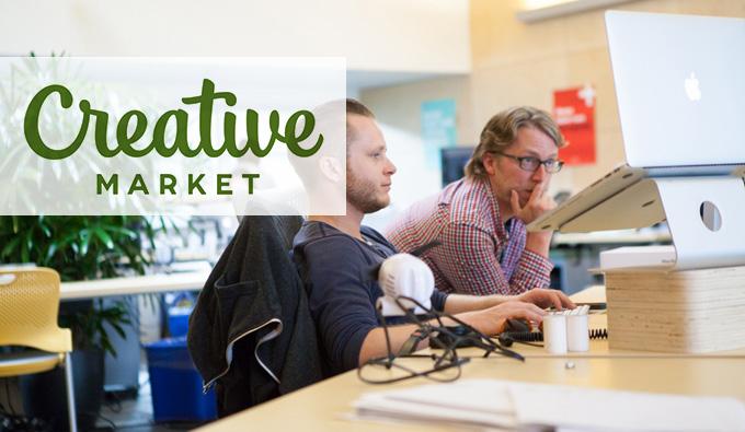 درآمد ارزی از سایت Creative Market
