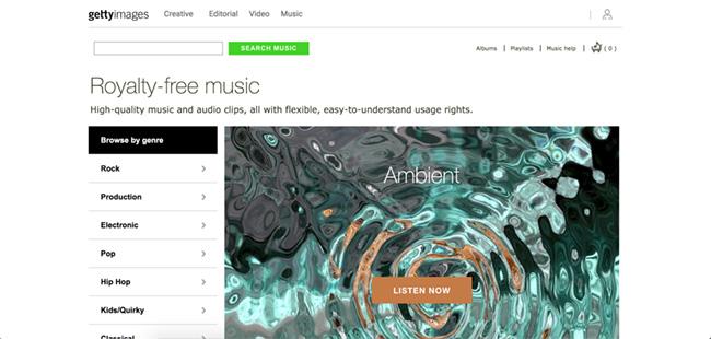 درامد یورو از فروش موسیقی زمینه