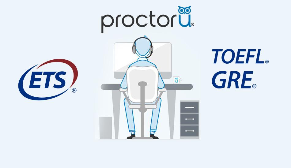 آزمون تافل و GRE در خانه با کمک سایت ProctorU