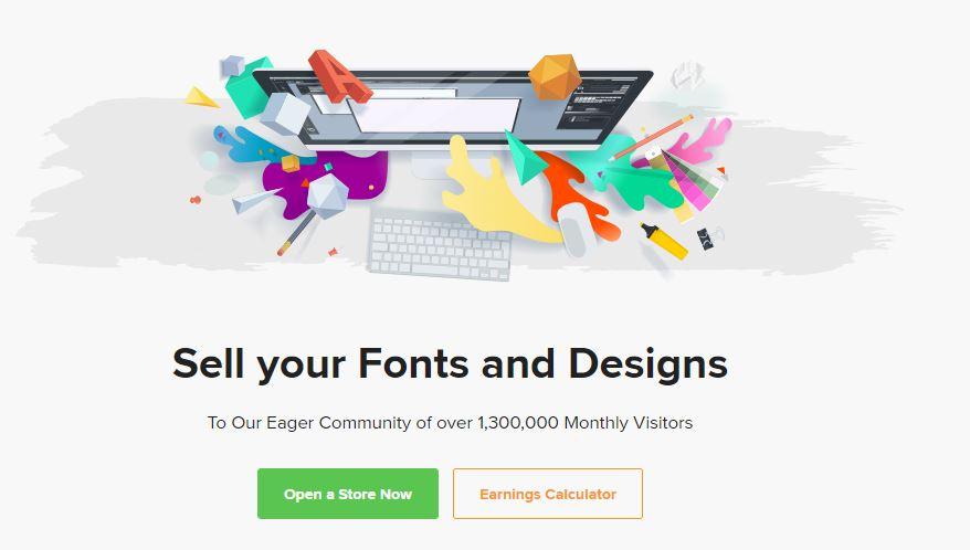 کسب درآمد ارزی از سایت Design Bundles
