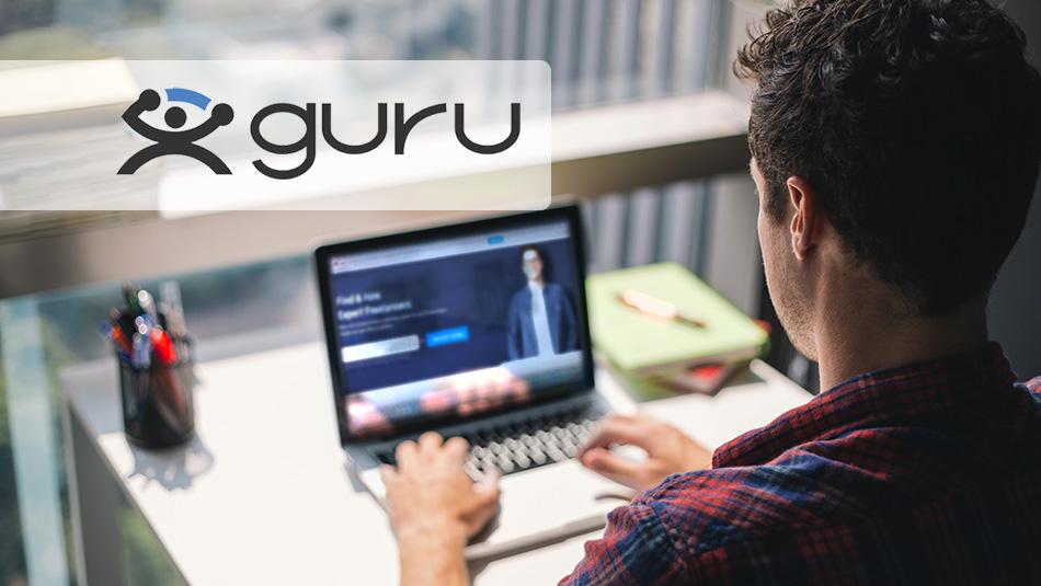 کسب درامد ارزی از سایت Guru