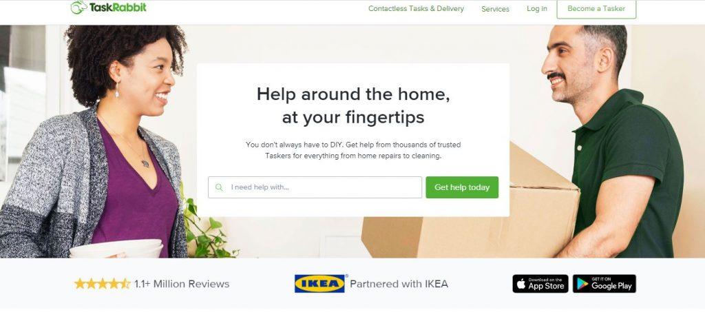 درآمد ارزی از سایت TaskRabbit خرید