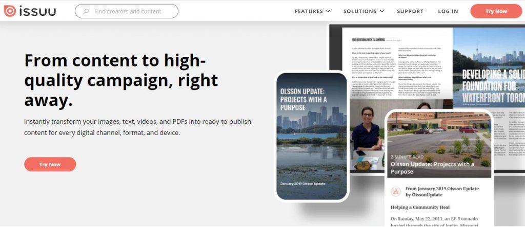 پورتفولیو معماری برای اپلای دانشگاه خارج در سایت Issuu