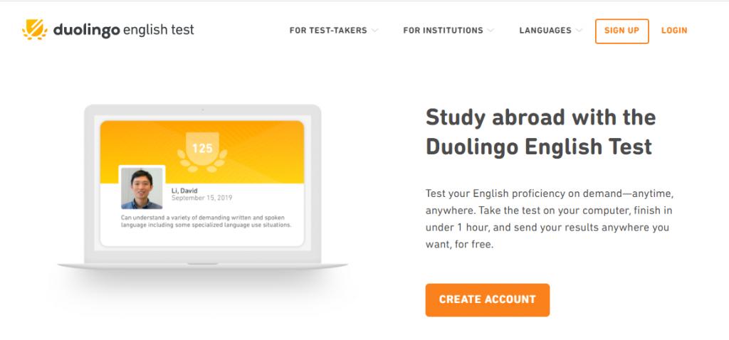 ثبت نام آزمون دولینگو (Duolingo) چیست