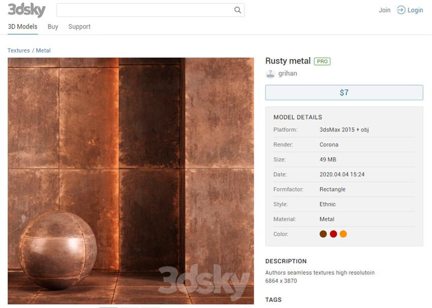 سه بعدی دکوراسیون داخلی از سایت 3dsky