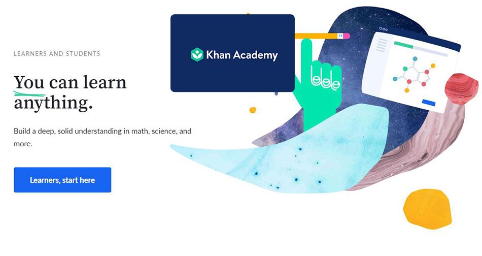 دوره های آموزشی آکادمی خان (Khan Academy)