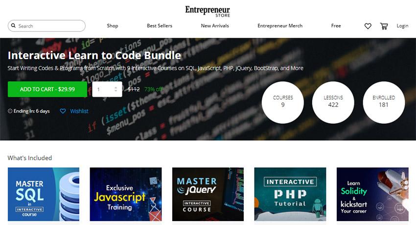 آموزش کد نویسی برای استارتاپ ها و کارآفرینان