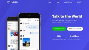 چطور اپلیکیشن HelloTalk در یادگیری زبان به شما کمک میکند؟