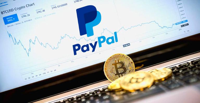 خرید و فروش ارزهای دیجیتال با حساب پی پال امکان