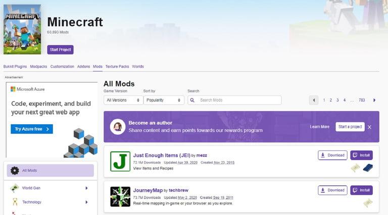 روش نصب Forge ماینکرافت (Minecraft)