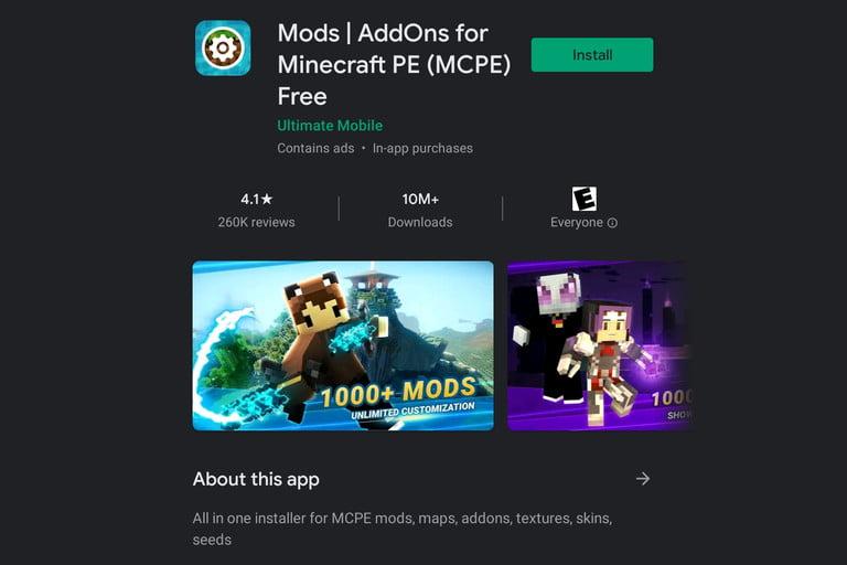نصب مد ماینکرافت (Minecraft) روی iOS