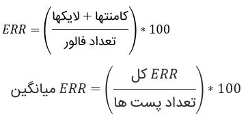 محاسبه اینگیجمنت ریت اینستاگرام چیست