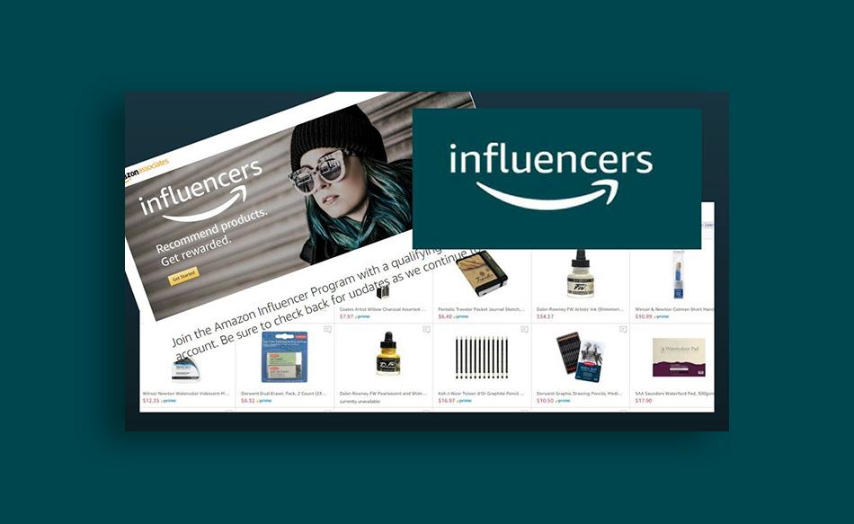 پروژه اینفلوئنسری آمازون (Amazon Influencer)