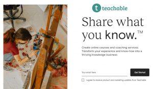 کسب درامد ارزی از سایت Teachable | ساخت مدرسه آنلاین شخصی