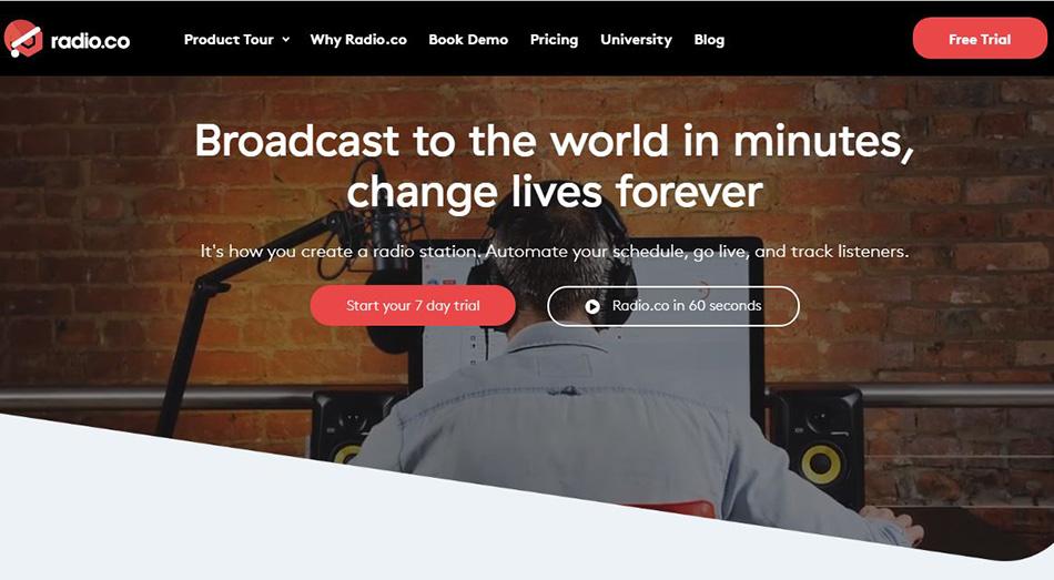 ساخت پادکست و با سایت Radio.co
