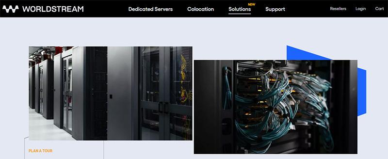 خدمات سرور اختصاصی سایت Worldstream