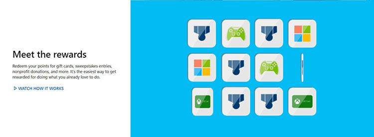 2 معرفی مایکروسافت ریواردز گرفتن گیفت کارت به صورت رایگان