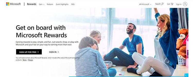 4 معرفی مایکروسافت ریواردز گرفتن گیفت کارت به صورت رایگان