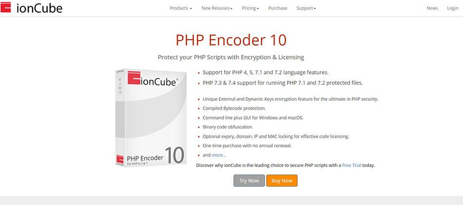 3 روش رمزنگاری کد های PHP با برنامهی ionCube PHP Encoder