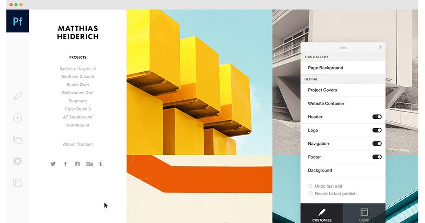 Adobe Portfolio چیست خدمات
