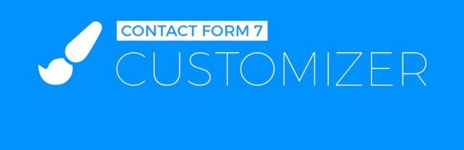 افزونه های Contact form 7 Customizer
