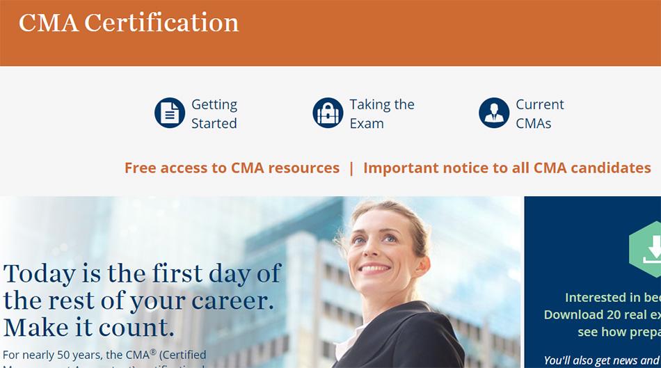 مدرک CMA چیست ؟
