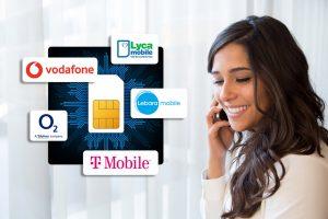 خدمات فروش سیم کارت های بین المللی اروپا به منظور استفاده در ایران