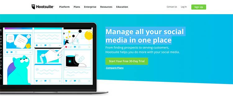 10 معرفی 11 ابزار مدیریت شبکه های اجتماعی برای تیم های بازاریابی در سال 2021