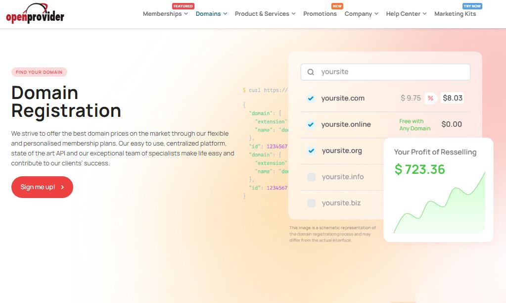 خرید دامین ارزان قیمت از سایت هلندی Openprovider