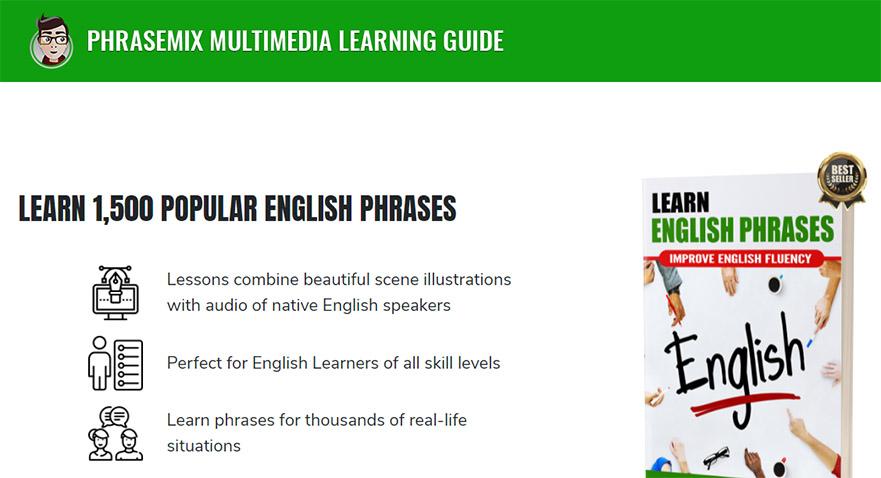 phrasemix بهترین سایت های یادگیری زبان انگلیسی