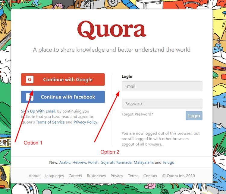 1 آموزش نحوه کسب درآمد از Quora به صورت گام به گام