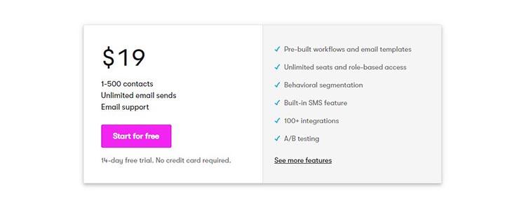 1 ایمیل و SMS مارکتینگ برای رشد کسب و کار با سایت Drip