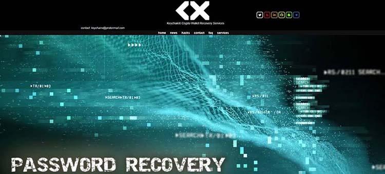 1 سایت KeychainX بازیابی آسان کیف پول بلاک چین