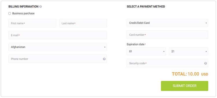 2 آموزش خرید لایسنس نرم افزار از استور سایت PayPro Global